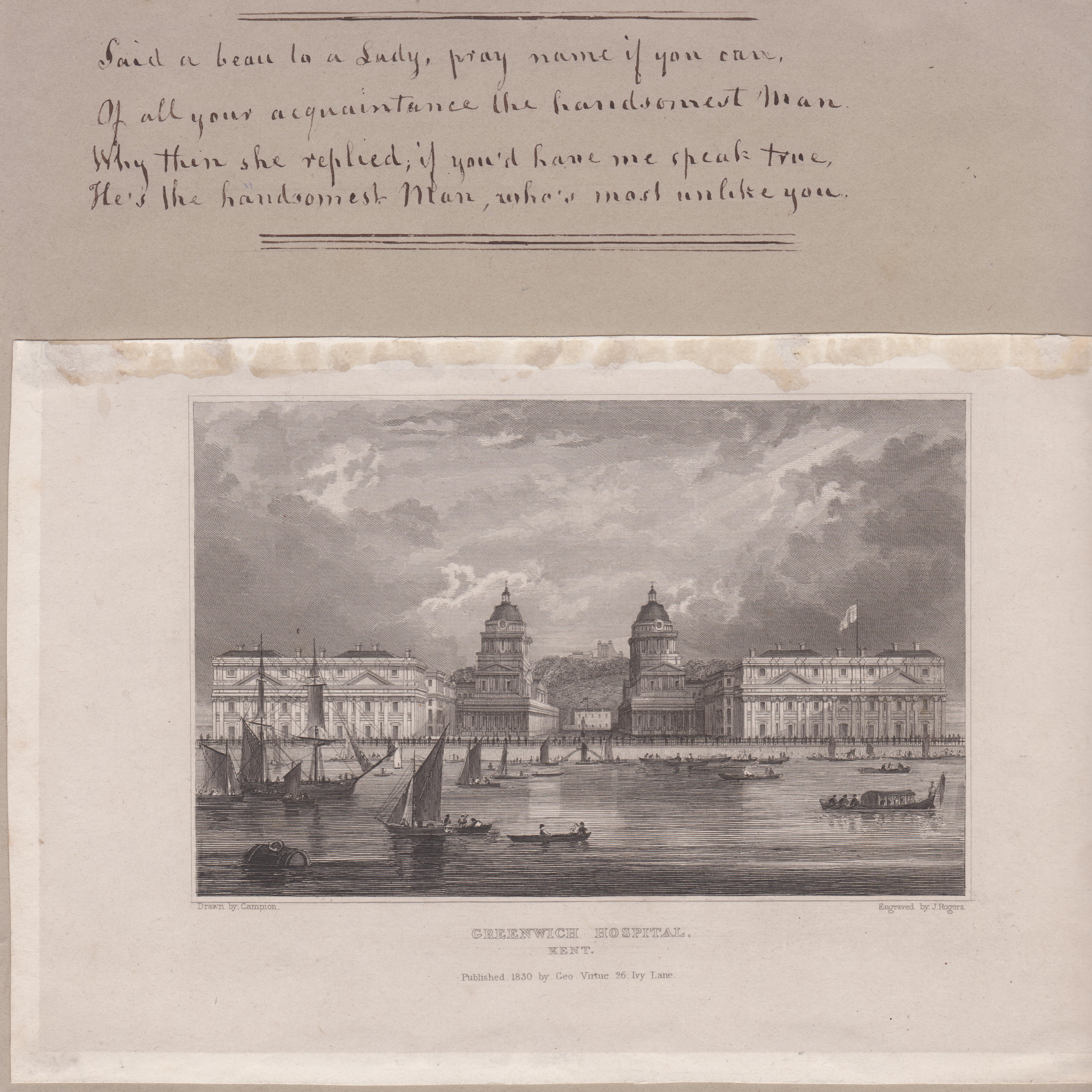 Greenwich Hospital 1830