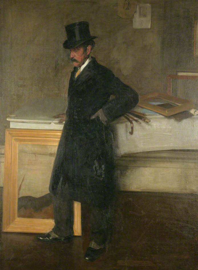 Walter Greaves (1917) by William Nicholson